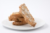Almond Biscotti with Demerara Sugar