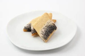Vanilla Diamonds with Poppy Seeds